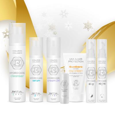 Karácsonyi kozmetikai csomag Harangvölgyi Rituálé Extra otthoni arcápoló csomag