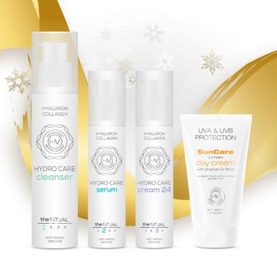Karácsonyi kozmetikai csomag Harangvölgyi Rituálé otthoni arcápoló csomag
