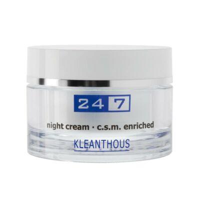 Kleanthous 24/7 Éjszakai Krém-Night krém