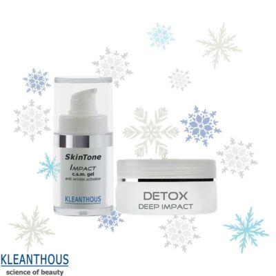 Kleanthous Immunboost csomag detox maszkkal és Imapct mini géllel